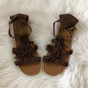 A.Giannetti Italian leather sandals